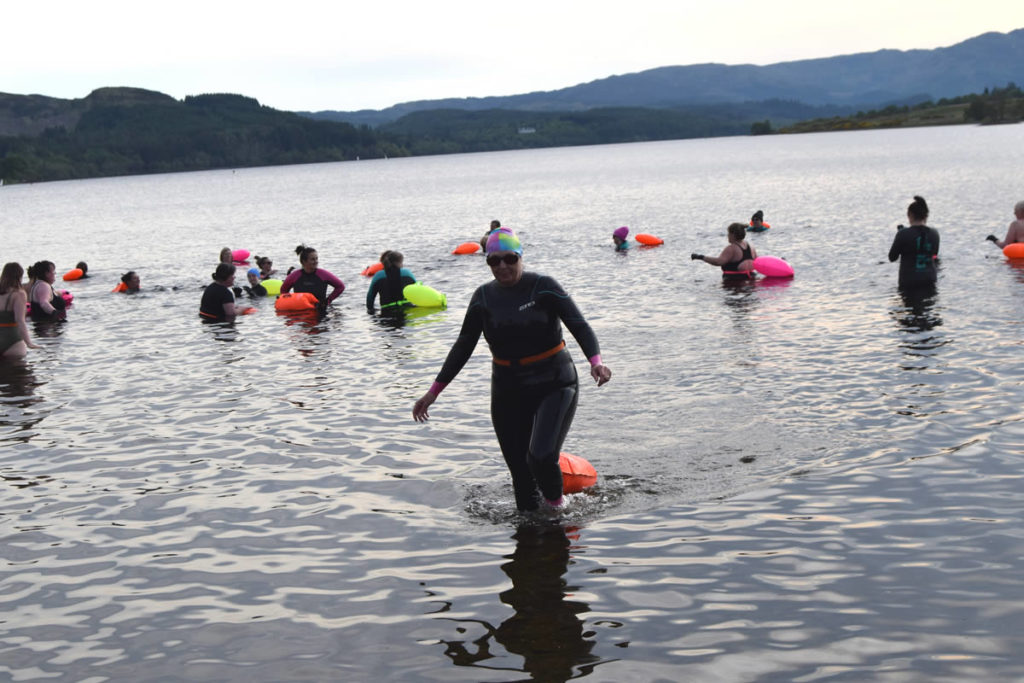 open water swimming holiday for women