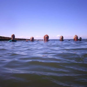 wild swimming breaks and holidays in Fife Scotland