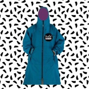 wild wimmin waterproof changing robe